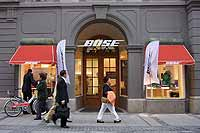 Theatiner Str. 27 -  Bose Store Musikanlagen, Lautsprecher, Home Entertainment System - (Foto: Marikka-Laila Maisel)